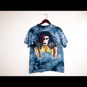 1997 Henri Peter Tie Dye Tee by The Mountain